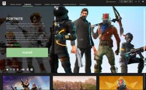 Enlarge Epic Games Launcher Screenshot