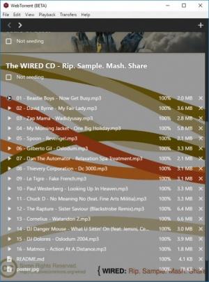 Enlarge WebTorrent Screenshot