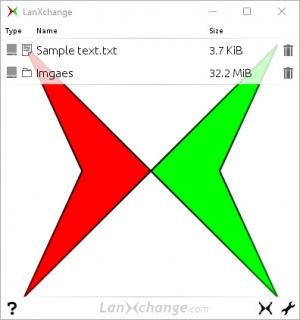 Enlarge LanXchange Screenshot