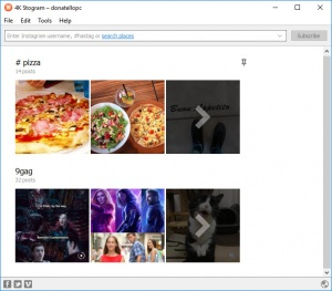 Enlarge 4K Stogram Screenshot