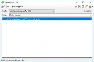 Enlarge VoiceMacro Screenshot