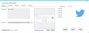 Enlarge Synergy ReTweet Screenshot