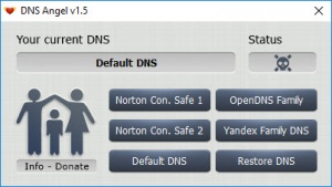 Enlarge Dns Angel Screenshot