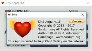 Enlarge Dns Angel Screenshot