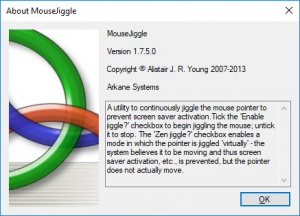 Enlarge Mouse Jiggler Screenshot