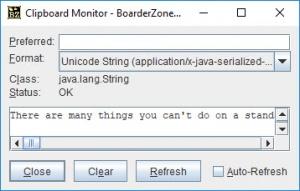 Enlarge BoarderZone FileBrowser Screenshot