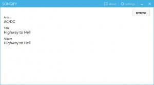 Enlarge Songify Screenshot