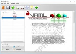 Enlarge PDF Page Lock Screenshot