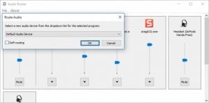 Enlarge Audio Router Screenshot