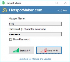 Enlarge Hotspot Maker Screenshot