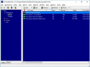 Enlarge Advanced Host Monitor Screenshot
