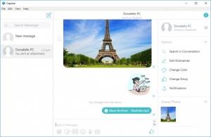 Enlarge Caprine Screenshot