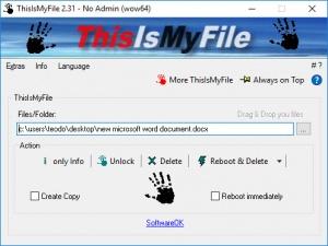 Enlarge ThisIsMyFile Screenshot
