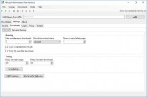 Enlarge HDoujin Downloader Screenshot