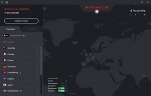 Enlarge ProtonVPN Screenshot