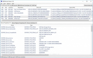 Enlarge USB Devices Viewer Screenshot