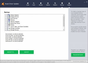 Enlarge Avast Driver Updater Screenshot