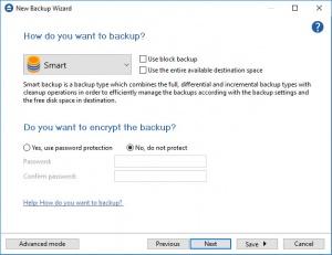 Enlarge Backup4all Portable Screenshot