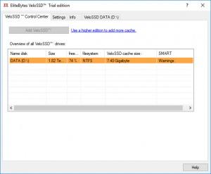Enlarge VeloSSD Screenshot