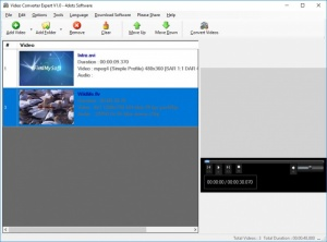 Enlarge Video Converter Expert Screenshot