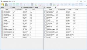 Enlarge AccdbMerge Screenshot