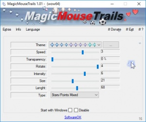 Enlarge MagicMouseTrails Screenshot