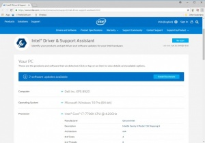 intel support drivers download