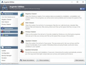 Enlarge Argente Utilities Screenshot