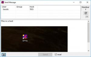 Enlarge IP Messenger Screenshot