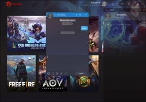 Enlarge Garena Screenshot