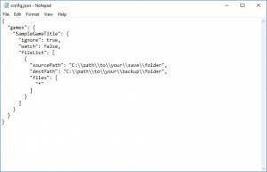 Enlarge GameSaveBackup Screenshot