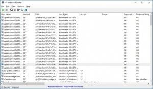 Enlarge HTTPNetworkSniffer Screenshot