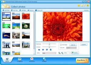 Enlarge iPixSoft Flash Slideshow Creator Screenshot