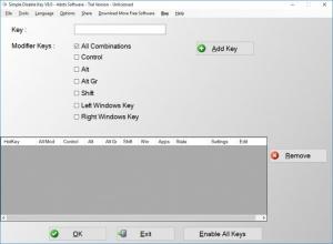 Enlarge Simple Disable Key Screenshot