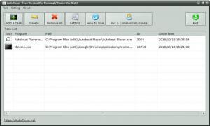 Enlarge AutoClose Screenshot