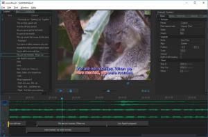 Enlarge Sayatoo SubtitleMaker Screenshot