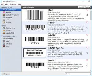 Enlarge Barcode Producer Screenshot