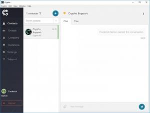 Enlarge Crypho Screenshot