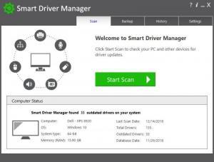 Enlarge Smart Driver Manager Screenshot