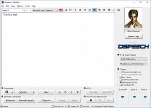 Enlarge DSpeech Screenshot
