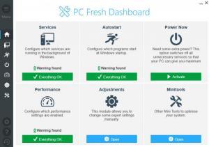 Enlarge PC Fresh Screenshot