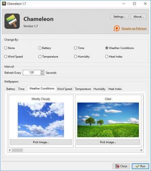 Enlarge Chameleon Screenshot