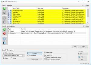 Enlarge KuKnet FileRenamer Screenshot