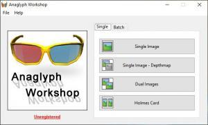 Enlarge Anaglyph Workshop Screenshot