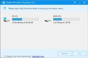 Enlarge Hasleo BitLocker Anywhere Screenshot