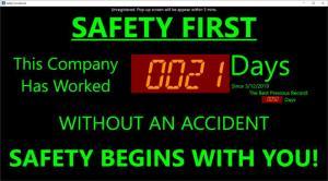 Enlarge Safety Scoreboard Screenshot