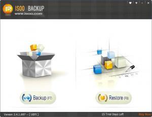 Enlarge Isoo Backup Screenshot