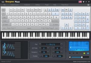 Enlarge Everyone Piano Screenshot