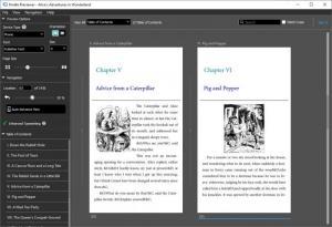 Enlarge Kindle Previewer Screenshot