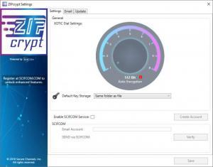 Enlarge ZIPcrypt Screenshot